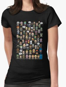 This is What I did in the 80s Womens Fitted T-Shirt
