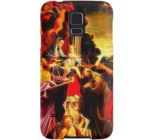 Madonna Enthroned with Saint Matthew Samsung Galaxy Case/Skin