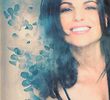 Lana Parrilla #Flowers by haryalculie