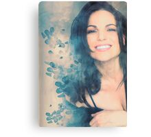 Lana Parrilla #Flowers Canvas Print