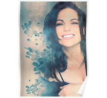 Lana Parrilla #Flowers Poster