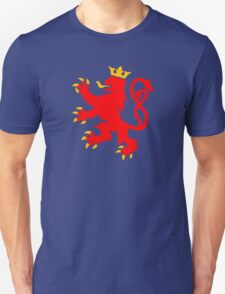 lion luxembourg crown  Unisex T-Shirt