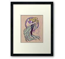 Spider Nouveau Framed Print
