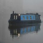 Foggy Barge by Yampimon