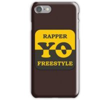 Rapper Freestyle iPhone Case/Skin