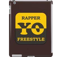 Rapper Freestyle iPad Case/Skin