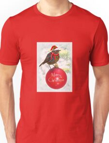 Ornamental Robin Unisex T-Shirt