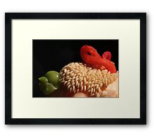 Italian Pepper Framed Print