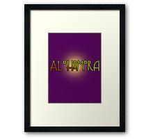 Alohomora - Harry Potter spells Framed Print