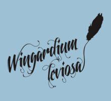 Wingardium leviosa - Harry Potter spells Kids Tee