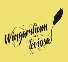 Wingardium leviosa - Harry Potter spells One Piece - Short Sleeve