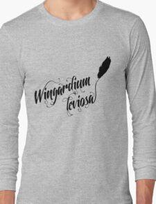 Wingardium leviosa - Harry Potter spells Long Sleeve T-Shirt