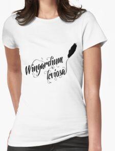 Wingardium leviosa - Harry Potter spells Womens Fitted T-Shirt