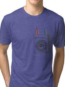 Dharma Initiative Scientist Tri-blend T-Shirt