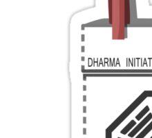 Dharma Initiative Scientist Sticker