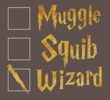 Harry Potter: Muggle, Squib, Wizard! One Piece - Short Sleeve