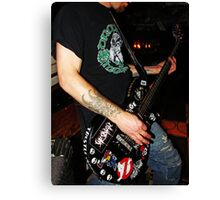 Rhythm Guitar Canvas Print