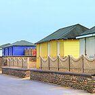 Beach Huts at Fleetwood by JacquiK