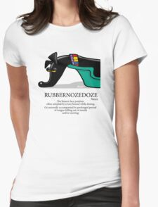 Rubbernozedoze Womens Fitted T-Shirt
