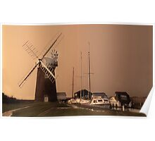 Horsey Wind Pump Poster