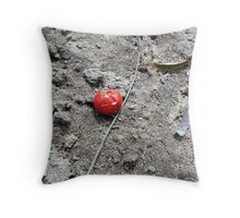 Lonely Berry Throw Pillow