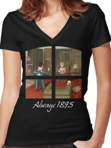 Always 1895 Women's Fitted V-Neck T-Shirt
