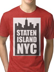 Staten Island NYC Tri-blend T-Shirt