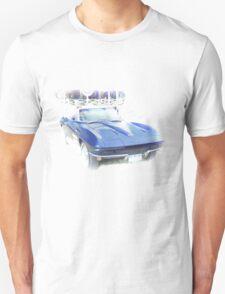 Vintage Blue Vette T-Shirt