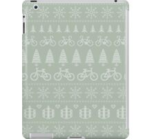 Christmas Cycling Jumper | Hessian/Mint iPad Case/Skin