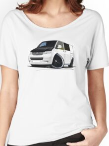 VW T5 (A) White Women's Relaxed Fit T-Shirt