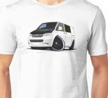 VW T5 (A) White Unisex T-Shirt