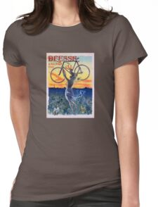 Déesse Cycles 1898 Vintage Advertising Poster Womens Fitted T-Shirt