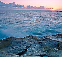 Last Blush Sunset by bazcelt