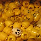 Lego Heads and Skulls by QuaddieFoul-Her
