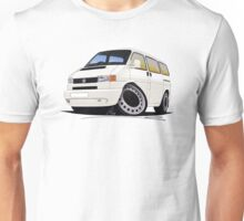 VW T4 White Unisex T-Shirt