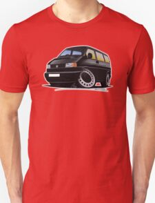 VW T4 Black T-Shirt