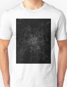 Beijing map china Unisex T-Shirt