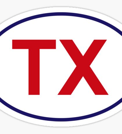 Texas State Sticker Sticker