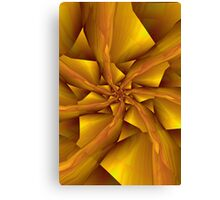 7 into1 in Yellow Canvas Print