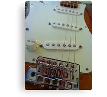 Fender Pickup Canvas Print