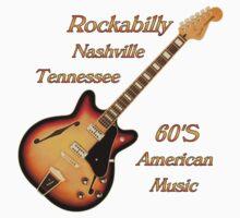 Rockabilly Nashville Tennessee  Baby Tee