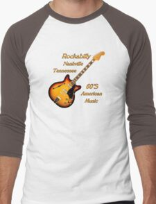 Rockabilly Nashville Tennessee  Men's Baseball ¾ T-Shirt