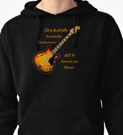 Rockabilly Nashville Tennessee  Pullover Hoodie