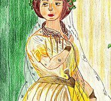 BERARDO AMICONI,TERESA BRAMBILLA NELLA NORMA DI VICENZO BELLINI,1851,MUSEO TEATRALE ALLA SCALA DI MILANO by Kittycat10