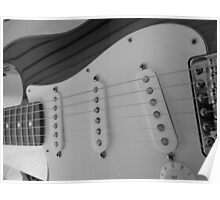 Fender Stratocaster Poster