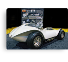 M A N T A R A Y - Dean Jeffries' immaculately restored Mantaray show car. Canvas Print