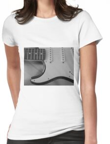 Electric Guitar Womens Fitted T-Shirt