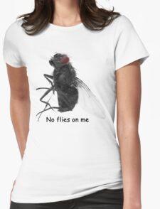 No Flies Womens Fitted T-Shirt