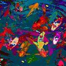 COY POND by Paul Quixote Alleyne