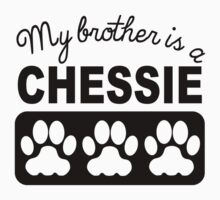 My Brother Is A Chessie Kids Tee
